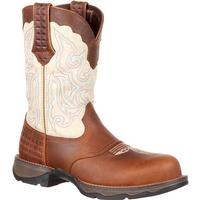 Lady Rebel by Durango Women's Composite Toe Saddle Western Boot, , medium