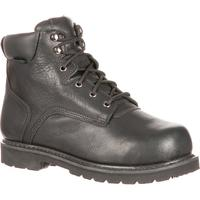 QUICKFIT Collection: Lehigh Safety Shoes Unisex Steel Toe Met Guard Waterproof Work Boot, , medium
