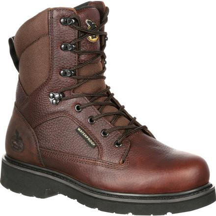 Georgia Boot Glennville Waterproof Work Boot, , large