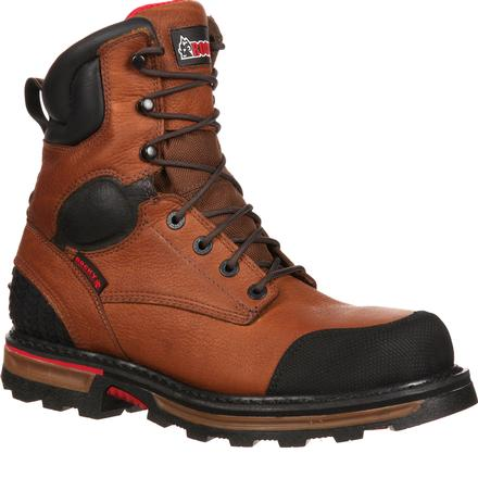 Rocky Elements Dirt Steel Toe Waterproof Work Boot, , large