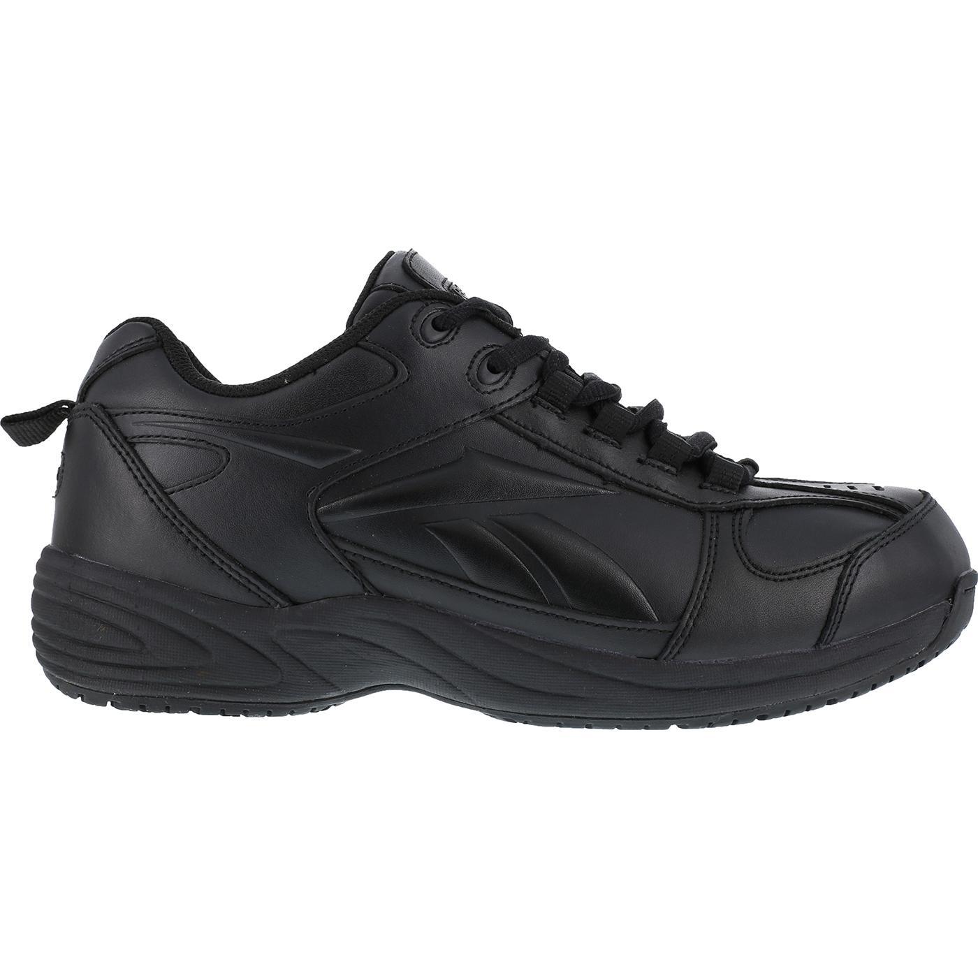 slip resistant locut athletic work shoe by reebok rb1100