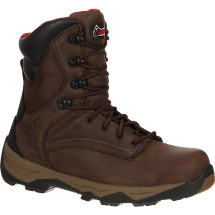 Rocky Retraction Steel Toe Waterproof Work Boot, , large