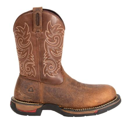 Rocky Long Range Carbon-Fiber Toe WP Western Boots, , large