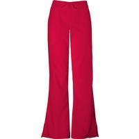 Cherokee Women's Red Flare-Leg Drawstring Pant, , medium