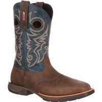 Rocky LT Steel Toe Saddle Western Boot, , medium