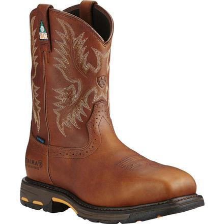 Ariat Workhog Composite Toe CSA-Approved Puncture-Resistant Waterproof Western Work Boot, , large