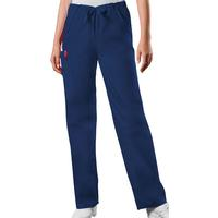 Cherokee Unisex Navy Drawstring Pant, , medium