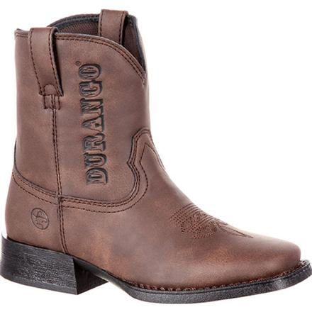 Lil' Outlaw by Durango Big Kids' Embossed Western Boot, , large
