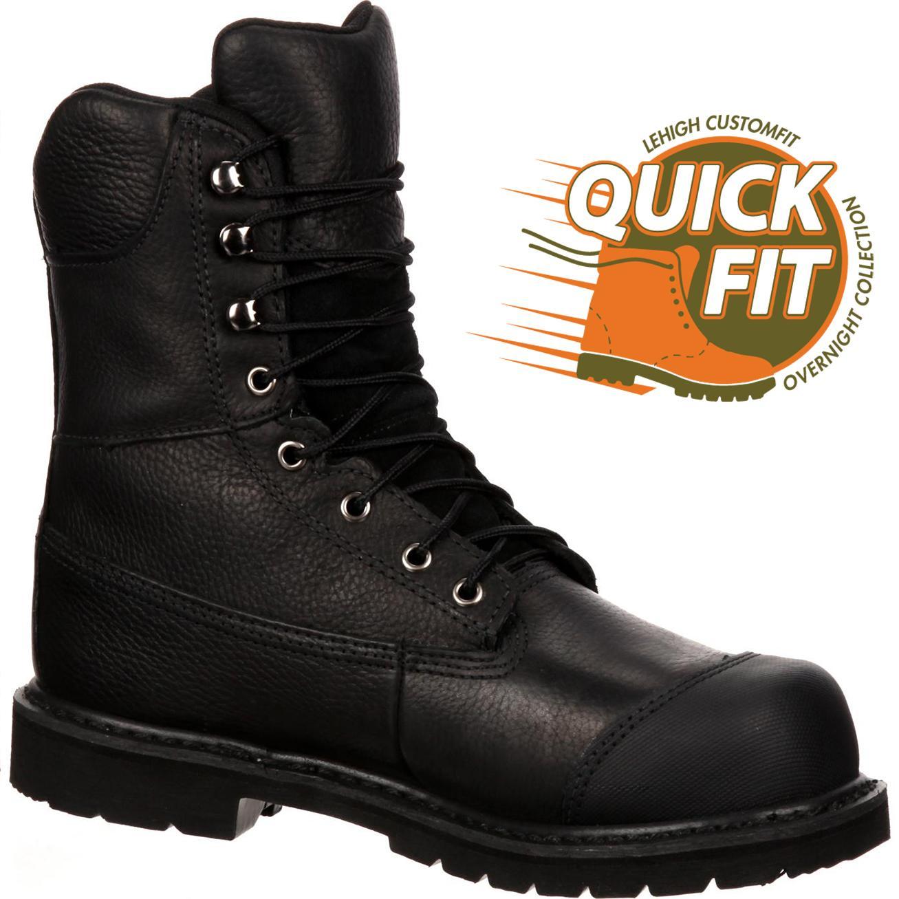 Lehigh Steel Toe Work Shoes