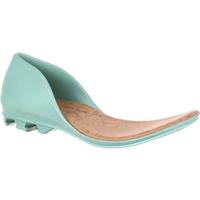 4EurSole Inspire Me Women's Turquoise Accessory Closed Back Footbed, , medium