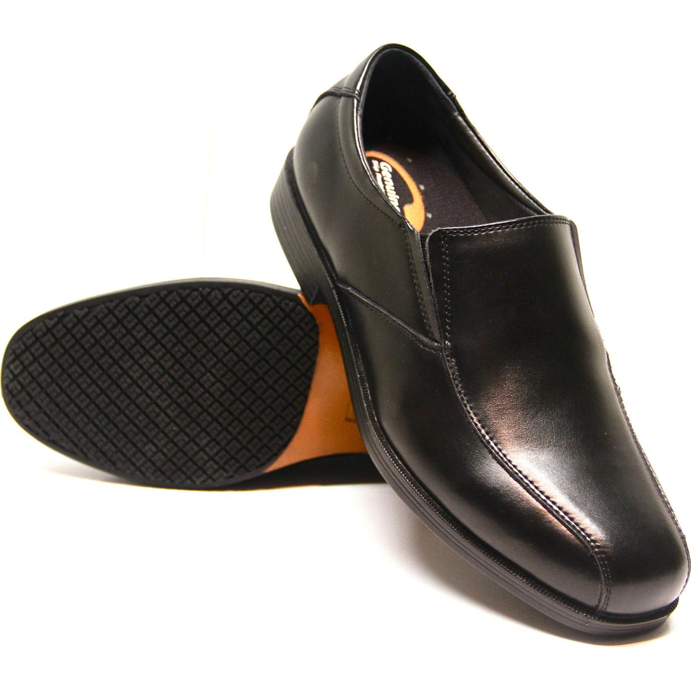 Black Slip Resistant Mens Shoe