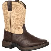 Rebel by Durango Kid's Brown & Tan Saddle Western, , medium