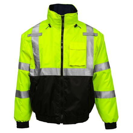 Tingley Bomber 3.1 Hi-Vis Waterproof Insulated Safety Jacket, , large