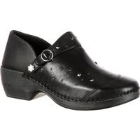 4EurSole Inspire Me Women's Studded Leather Clog, , medium
