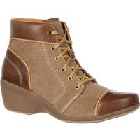 4EurSole Forte Women's High Wedge Lacer Boot, , medium