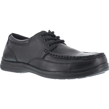 Florsheim Work Wily Steel Toe Static-Dissipative Moc Toe Work Oxford, , large