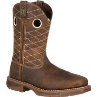 Workin' Rebel by Durango Brown Composite Toe, , medium