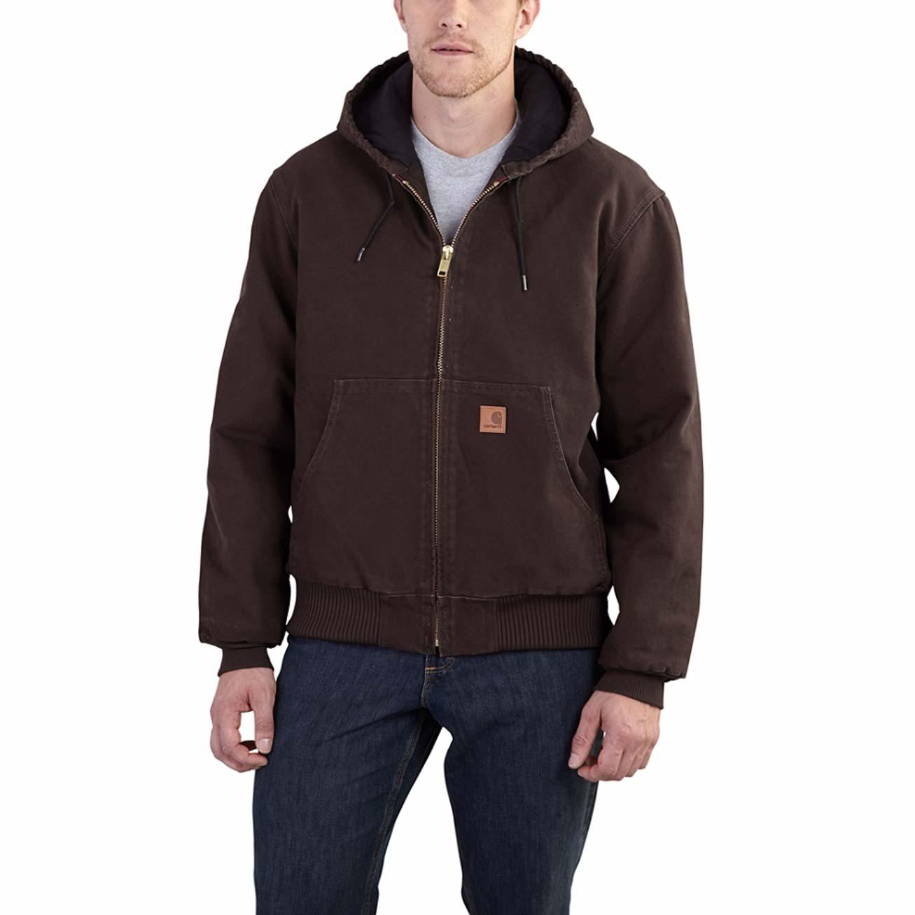 Carhartt Quilted Flannel-Lined Active Jacket, #J130DKB : carhartt quilted jacket - Adamdwight.com