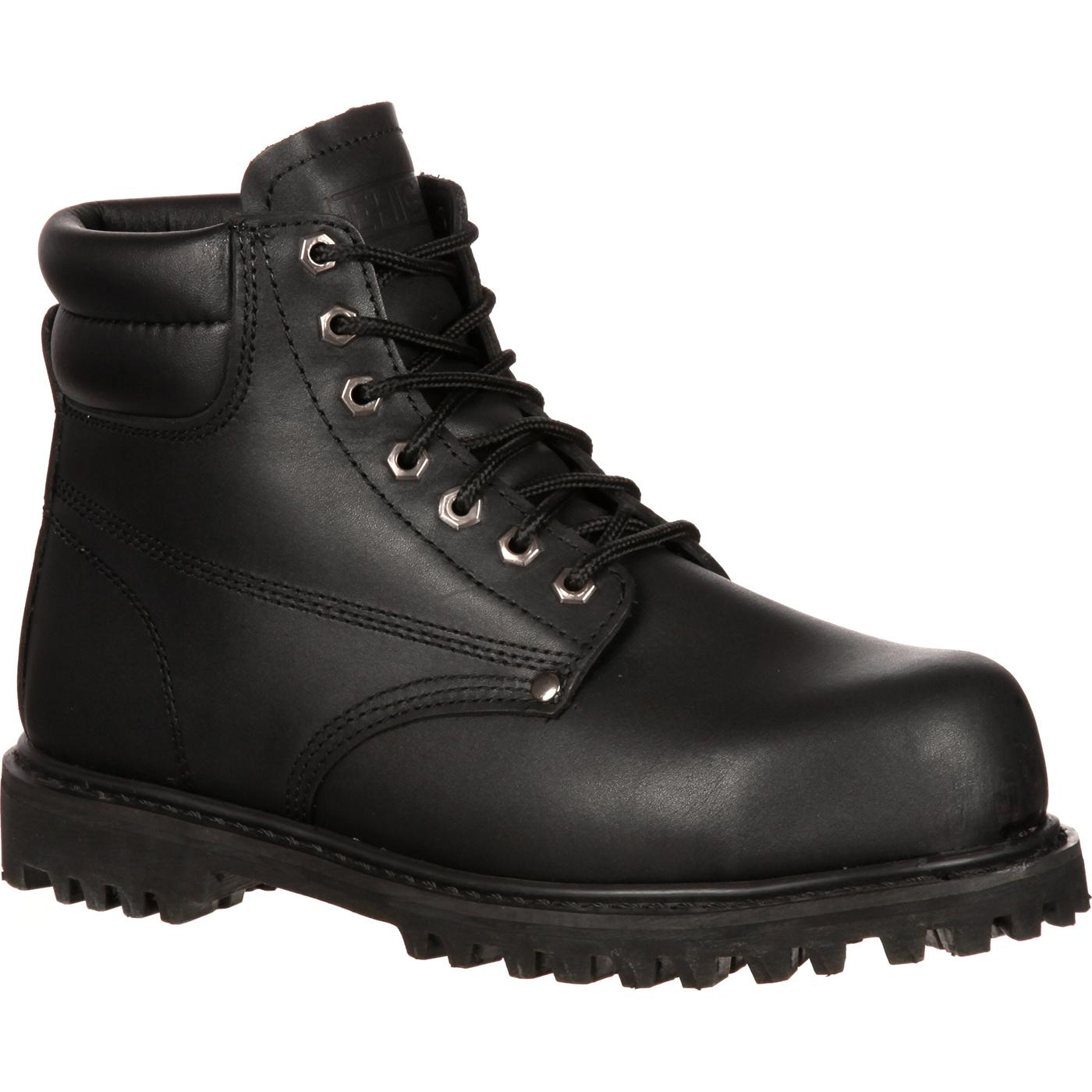 Wide Steel Toe Shoes