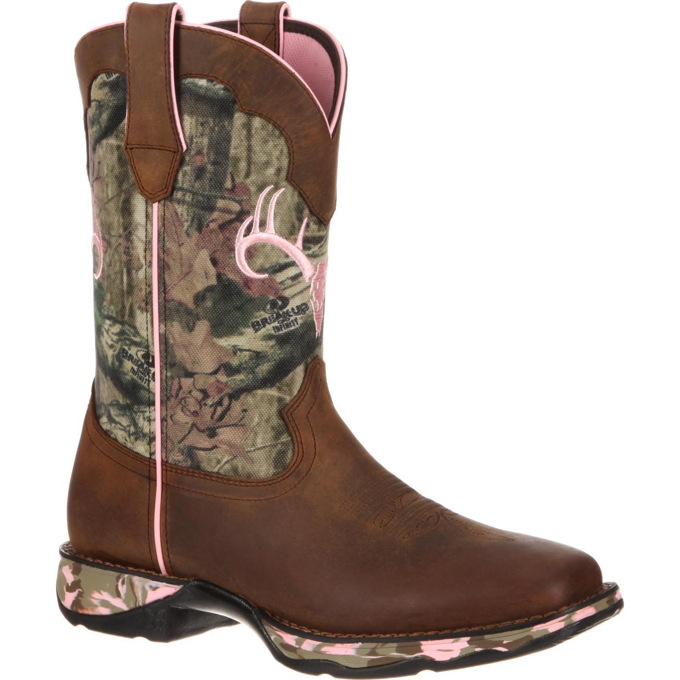 Women S Mossy Oak Camo Western Boot Lady Rebel By Durango
