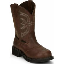 Justin Original Work Gypsy Women's Steel Toe Waterproof Western Work Boot