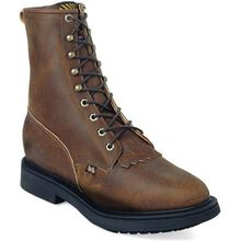 Justin Work Conductor Double Comfort Lacer Western Work Boot