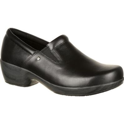 4Eursole Comfort 4Ever Women's Black Slip-On Shoe, , large