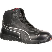 Puma Moto Protect Daytona Mid Steel Toe Static-Dissipative Work Athletic Shoe