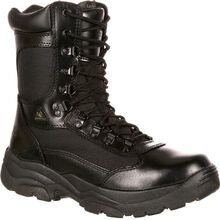 Rocky Fort Hood Zipper Waterproof Public Service Boot
