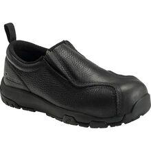 Nautilus ESD Men's Carbon Toe Static Dissipative Non-Metallic Leather Slip On Work Shoe