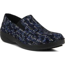 Spring Step Manila Ice Women's Slip-Resistant Leather Slip-On Shoe