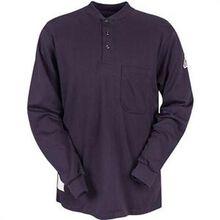 Bulwark Flame Resistant Long Sleeve Henley Collar Shirt