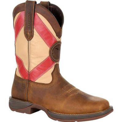 Rebel™ by Durango® Florida State Flag Western Boot, , large