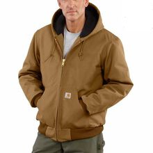Carhartt Duck Active Quilted Flannel-Lined Jacket