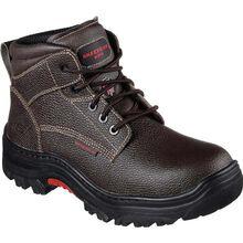 SKECHERS Work Burgin Tarlac Steel Toe Puncture-Resistant Work Boot