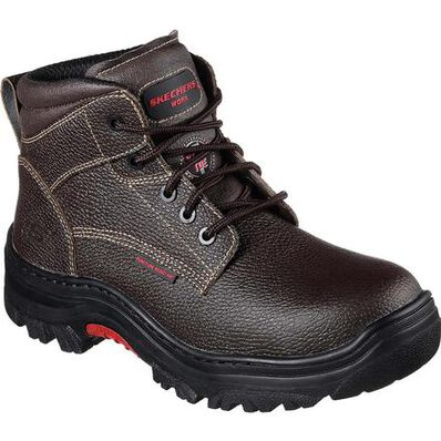 SKECHERS Work Burgin Tarlac Steel Toe Puncture-Resistant Work Boot, , large