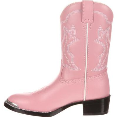 Durango® Little Kids' Pink Western Boot, , large