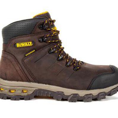 DEWALT® Farnham Men's 6 inch Aluminum Toe Electrical Hazard Waterproof Work Hikers, , large