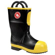Black Diamond Unisex NFPA Insulated Rubber Firefighter Boot