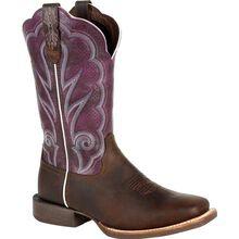 Durango® Lady Rebel Pro™ Women's Ventilated Plum Western Boot