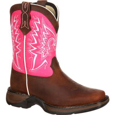 LIL' DURANGO® Toddler Let Love Fly Western Boot, , large
