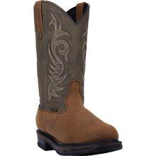 Laredo Hammer Men's Steel Toe Electrical Hazard Waterproof Western Pull-on Work Boot