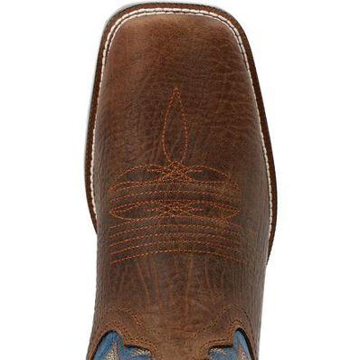 Durango® Westward™ Old Town Brown & Denim Western Boot, , large