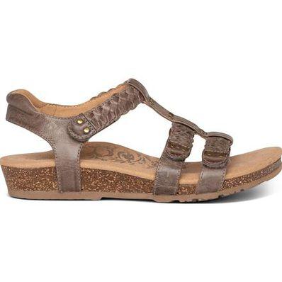 Aetrex Reese Women's Casual Gladiator Sandal, , large