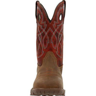 Rocky Legacy 32 Steel Toe Waterproof Western Boot, , large