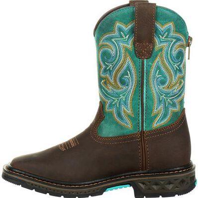 Georgia Boot Carbo-Tec LT Big Kids Pull On Boot, , large