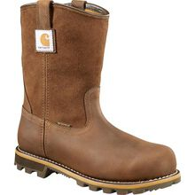 Carhartt Traditional Welt Men's Electrical Hazard Waterproof Leather Pull-on Work Boot