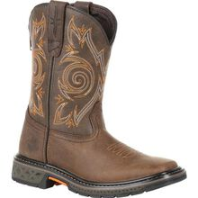 Georgia Boot Carbo-Tec LT Big Kids Brown Pull-On Boot