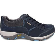 Dansko Paisley Women's Waterproof Navy Milled Nubuck Oxford