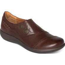 Aetrex Karina Women's Casual Leather Slip-On with Monk Strap